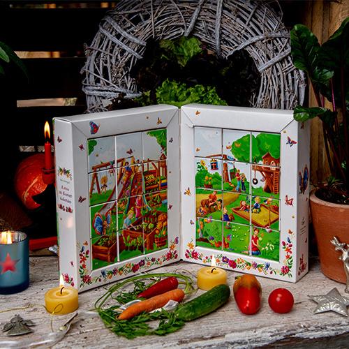 Saat & Gut BIO Saatgut Adventskalender 'Mit Lotta im Garten'