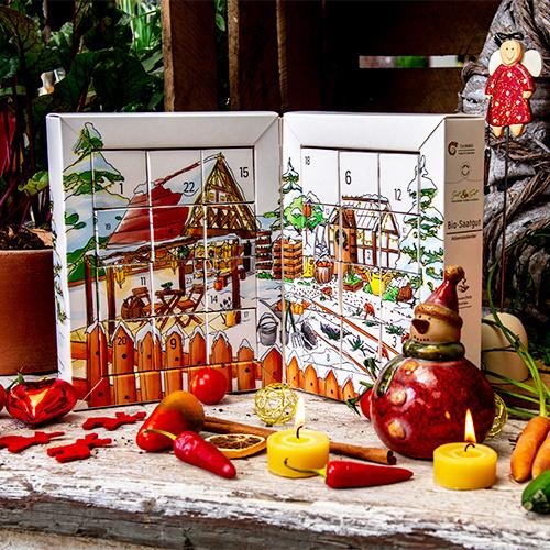 Saat & Gut BIO Gemüse-Saatgut Adventskalender