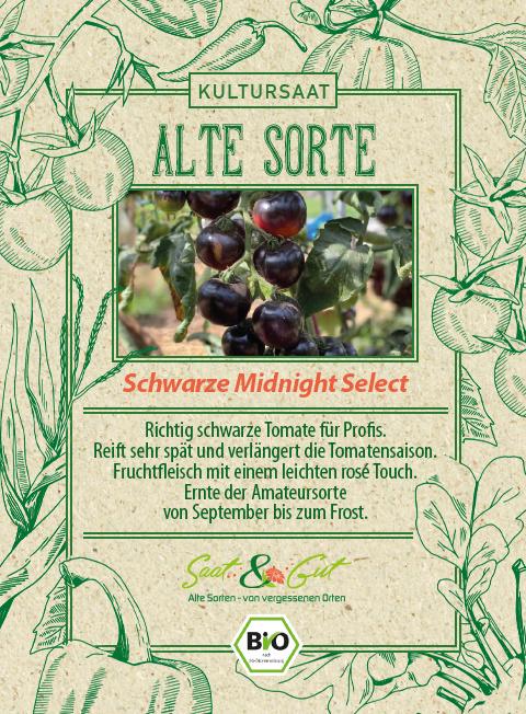 Saat & Gut BIO-Tomate Midnight Select