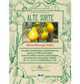 Saat & Gut BIO-Tomate Birnenförmige Gelbe