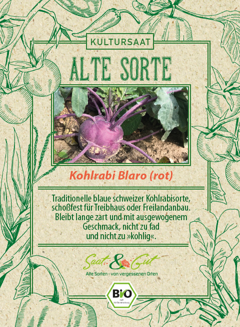 Saat & Gut BIO-Kohlrabi Blaro