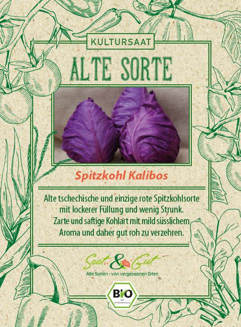 Saat & Gut BIO-Spitzkohl Kalibos