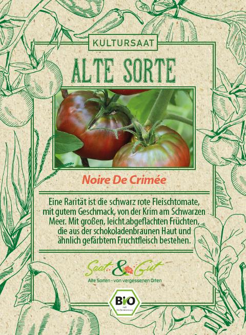 Saat & Gut BIO-Tomate Noire De Crimée
