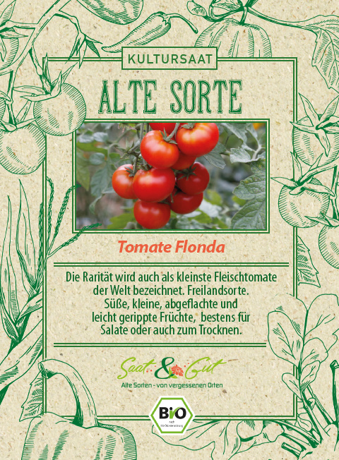 Saat & Gut BIO-Tomate Flonda