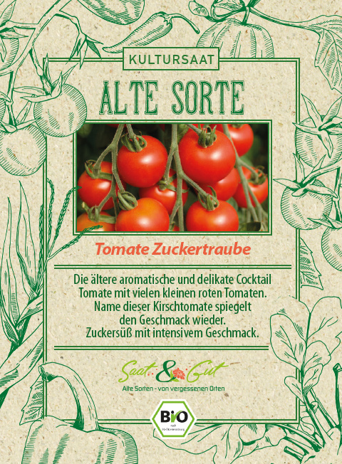 Saat & Gut BIO-Tomate Zuckertraube