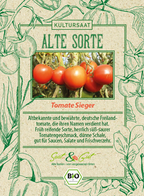Saat & Gut BIO-Tomate Sieger