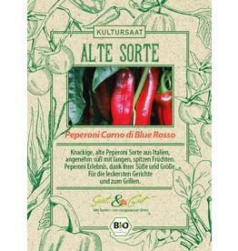 Saat & Gut BIO-Peperoni Corno di bue Rosso