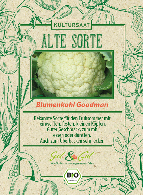 Saat & Gut BIO-Blumenkohl Goodman