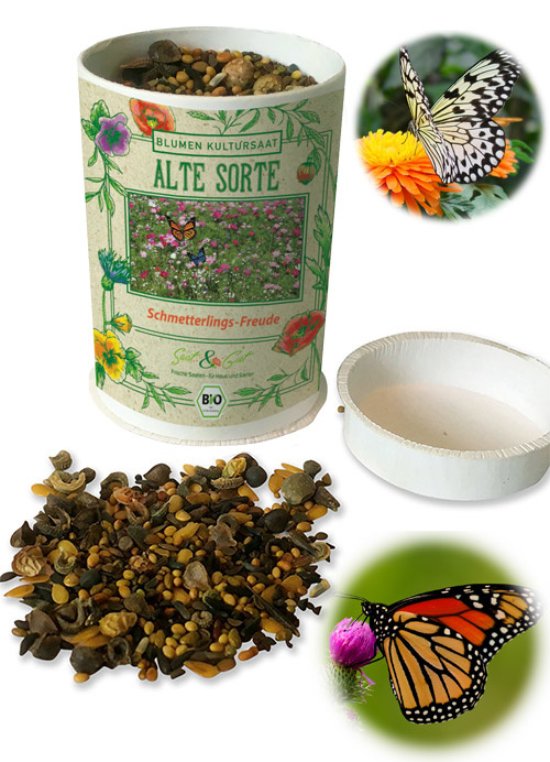 Saat & Gut BIO-Schmetterlings-Freude - Dose