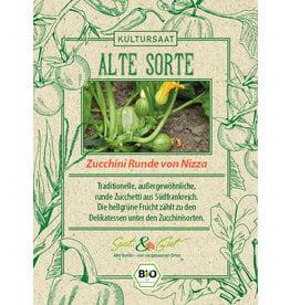 Saat & Gut BIO-Zucchini Runde von Nizza