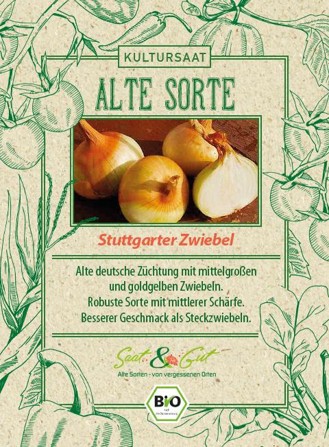 Saat & Gut BIO-Stuttgarter Zwiebel