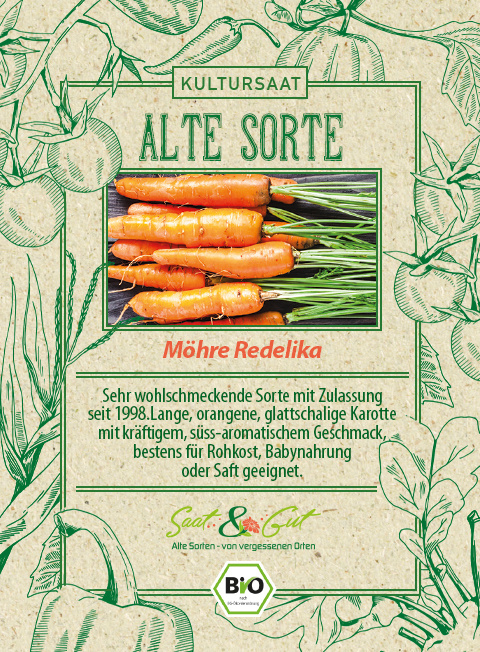 Saat & Gut BIO-Möhre Rodelika