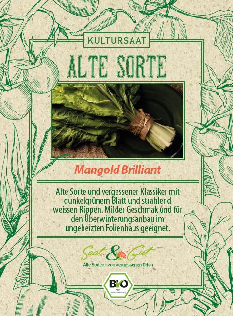 Saat & Gut BIO-Mangold Brilliant
