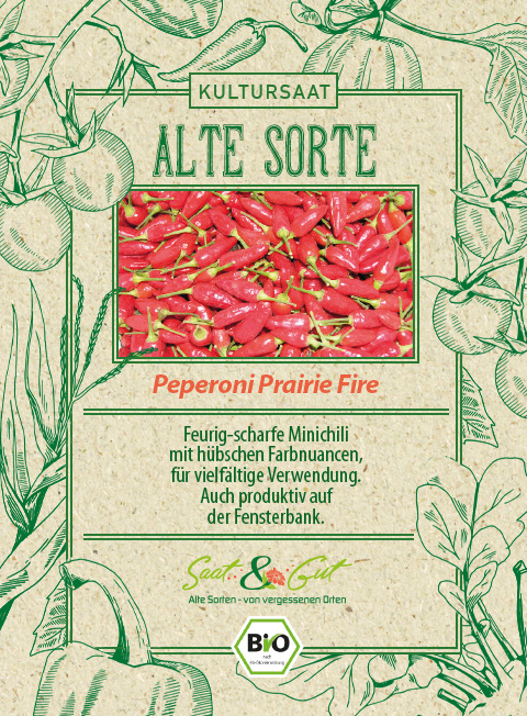 Saat & Gut BIO-Peperoni Prairie Fire