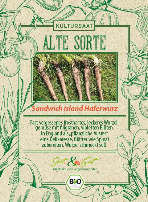 Saat & Gut BIO-Haferwurzel Sandwich Island