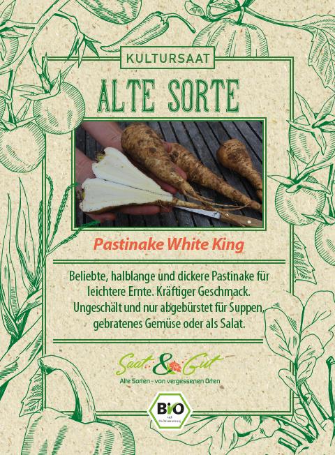 Saat & Gut BIO-Pastinake White King