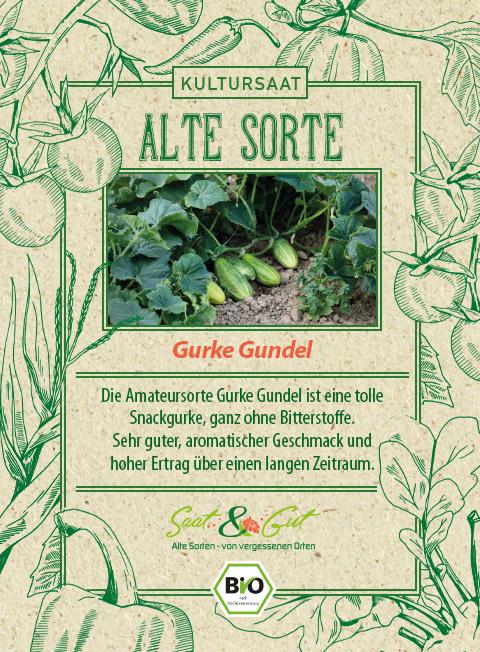 Saat & Gut BIO-Gurke Gundel