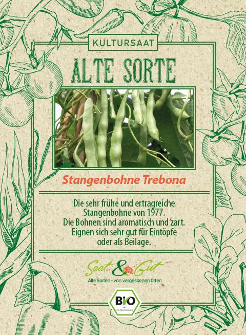 Saat & Gut BIO-Stangenbohne Trebona