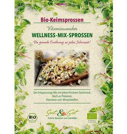 Saat & Gut BIO-Keimsprossen Wellness-Mix