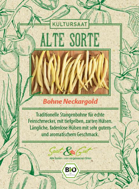Saat & Gut BIO-Bohne Neckargold