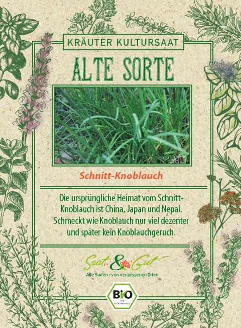 Saat & Gut BIO-Schnittknoblauch