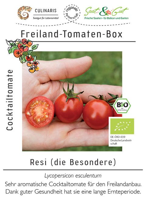 Saat & Gut BIO-Freiland-Tomaten-Box