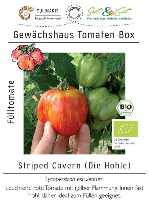 Saat & Gut BIO-Gewächshaus-Tomaten-Box