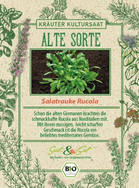 Saat & Gut BIO-Salatrauke Rucola