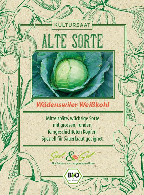 Saat & Gut BIO-Weißkohl Wädenswiler