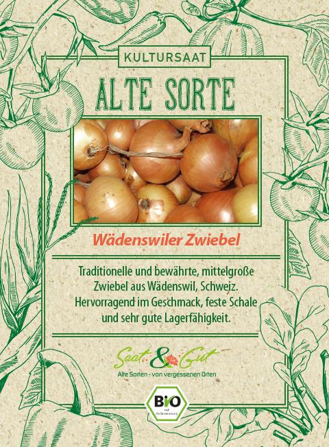 Saat & Gut BIO-Zwiebel Wädenswiler