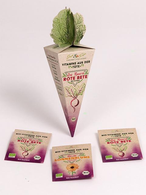 Saat & Gut BIO-Vitamine aus der Tüte - Rakete Rote Bete