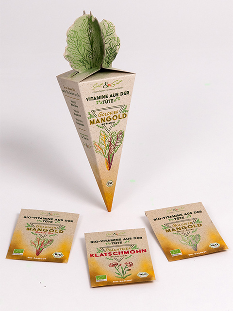 Saat & Gut BIO-Vitamine aus der Tüte - Goldiger Mangold