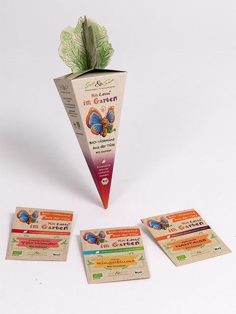 Saat & Gut BIO-Vitamine aus der Tüte - Mit Lotta im Garten