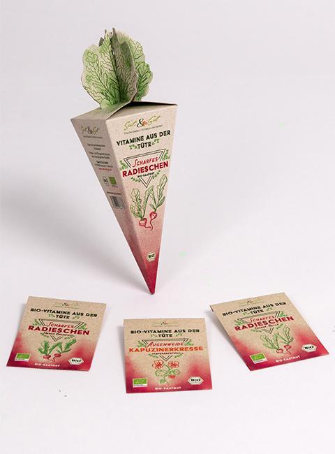 Saat & Gut BIO-Vitamine aus der Tüte - Scharfes Radieschen