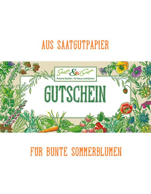Saat & Gut Geschenk-Gutschein