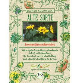 Saat & Gut BIO-Sonnenblume Bambino