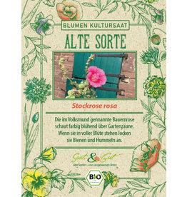 Saat & Gut BIO-Stockrose rosa