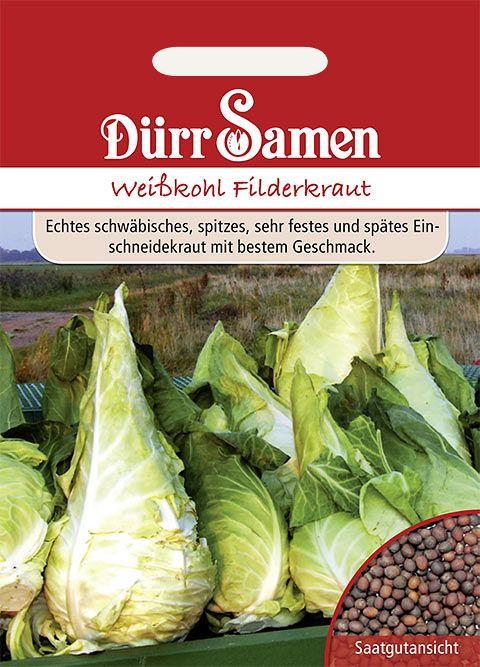 Dürr Samen Weißkohl  Spitzkraut