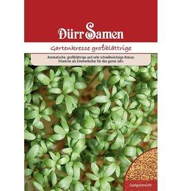 Dürr Samen Gartenkresse großblättrige (Vorteilspackung)