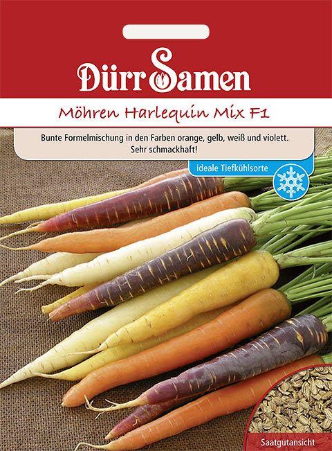 Dürr Samen Möhren  Harlequin Mix F1