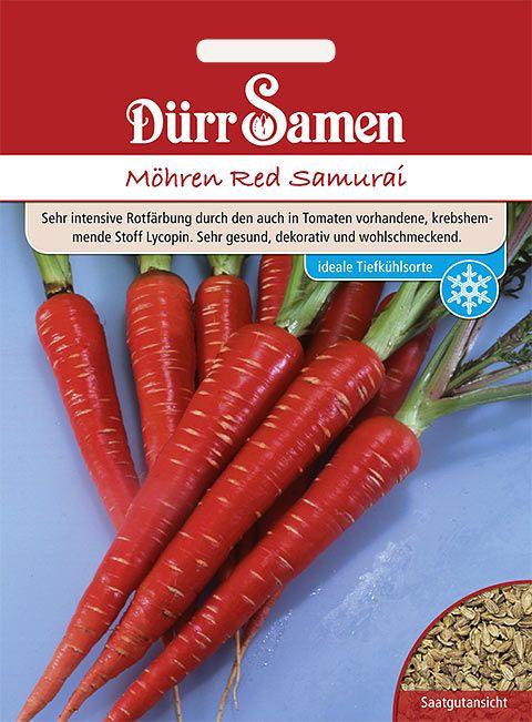 Dürr Samen Möhren  Red Samurai