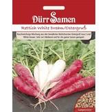 Dürr Samen Rettich  White Dream/Ostergruß rosa 2