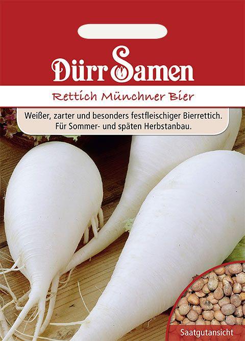 Dürr Samen Winterrettich Münchner Bier
