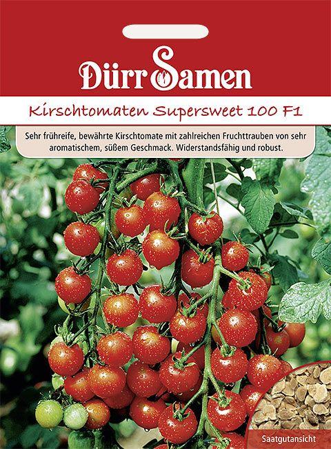 Dürr Samen Tomaten  Supersweet 100 F1