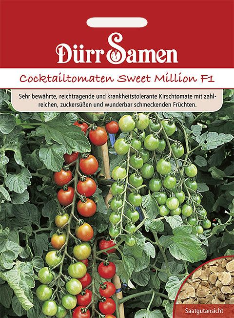 Dürr Samen Cocktailtomaten  Sweet Million F1