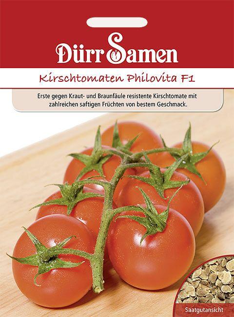 Dürr Samen Tomaten  Philovita F1