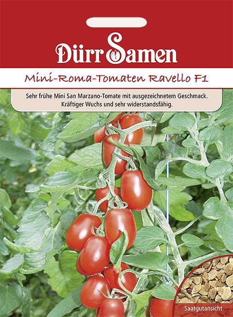 Dürr Samen Mini-Roma-Tomaten  Ravello F1