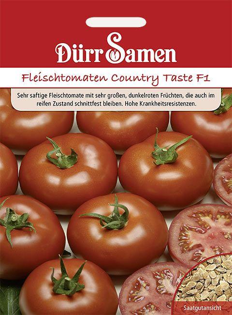 Dürr Samen Fleischtomaten  Country Taste F1