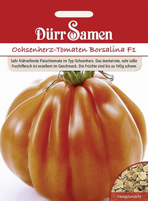 Dürr Samen Tomaten  Ochsenherz Borsalina F1
