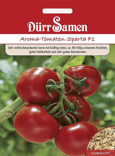Dürr Samen Aroma-Tomaten  Sparta F1